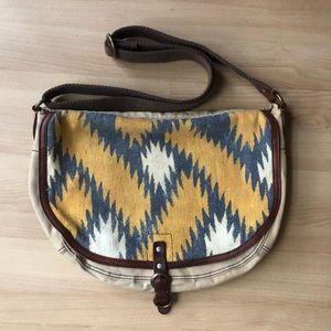 Lucky brand saddle bag